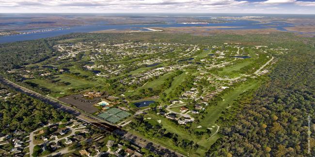 Hidden Hills Golf Club Layout