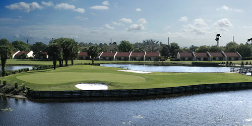 The Legends Walk at Orange Lake Resort Florida golf packages