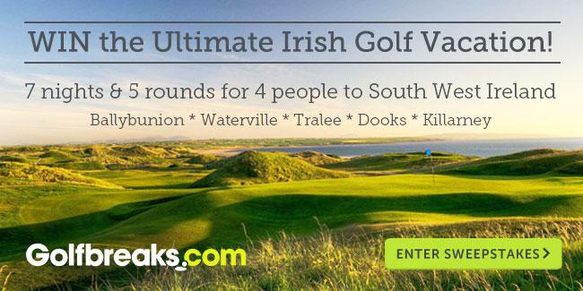 Win the Ultimate Irish Golf Vacation